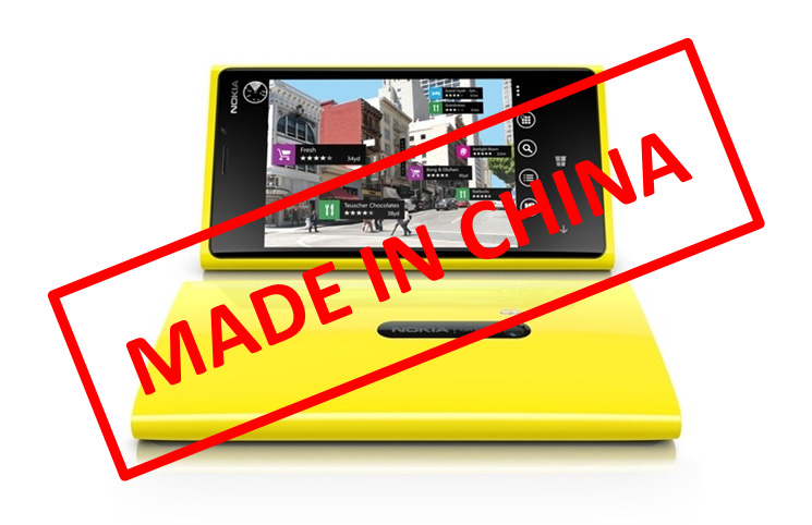 Nokia made in China offshoring z Finlandii do Chin
