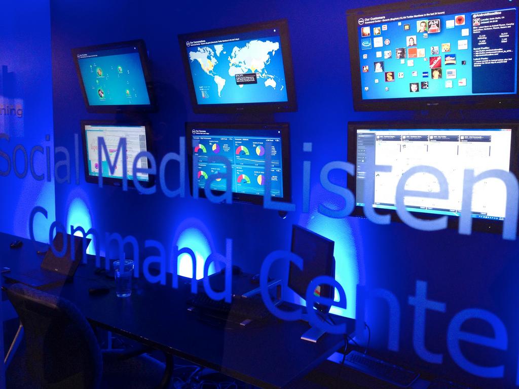 Social media listen command center