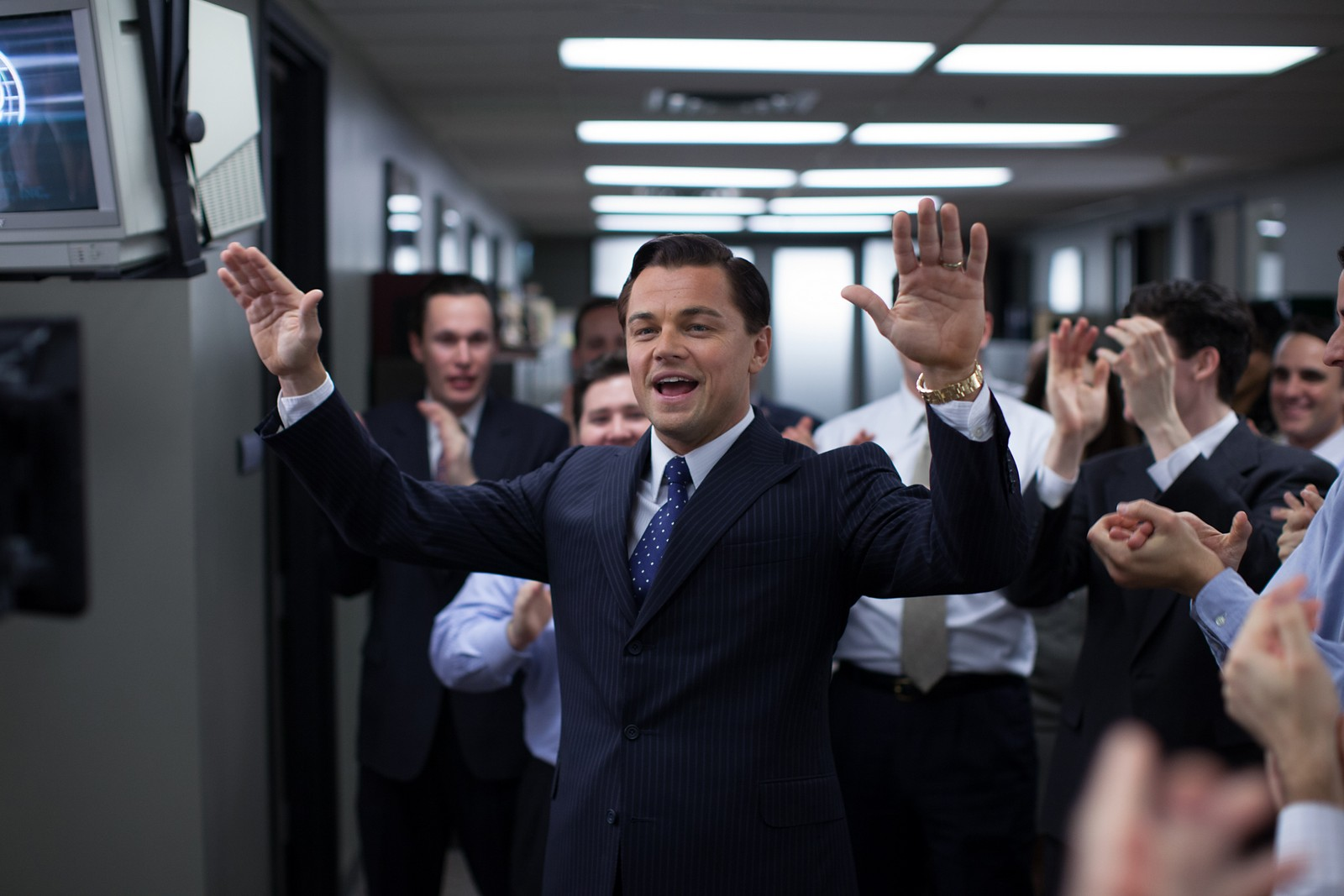 o is Jordan Belfort in THE WOLF OF WALL STREET